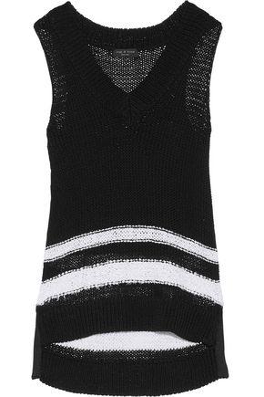 RAG & BONE Dina open-knit cotton-blend tank