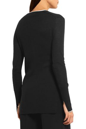 RAG & BONE Alexandra ribbed cashmere top