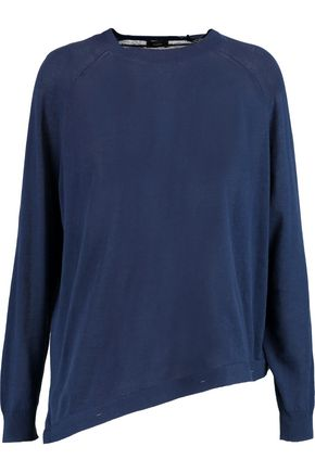 JOSEPH Asymmetric cotton-jersey sweater