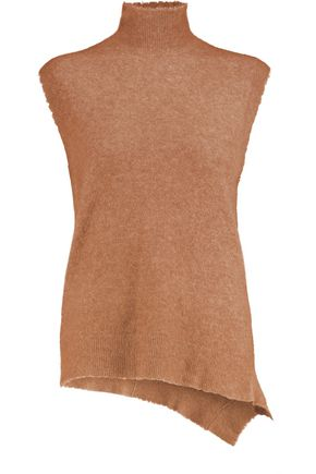3.1 PHILLIP LIM Asymmetric stretch-knit turtleneck top