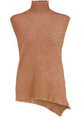 3.1 PHILLIP LIM Asymmetric stretch-knit turtleneck top