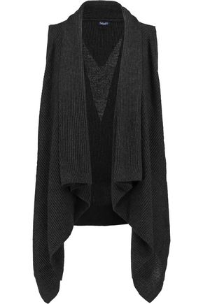 SPLENDID Draped cotton-blend cardigan