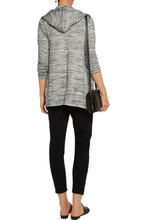 SPLENDID Draped slub jersey cardigan