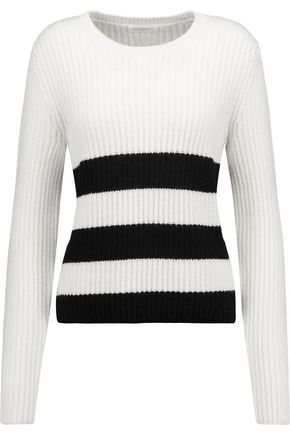 EQUIPMENT FEMME Carson intarsia-knit wool and alpaca-blend sweater