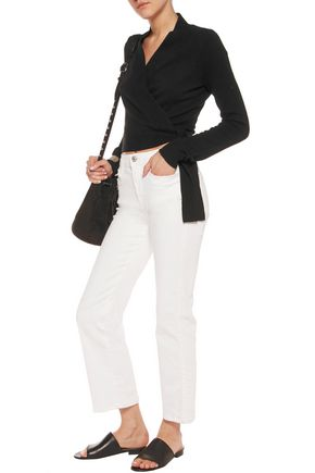 EQUIPMENT FEMME Shaylin cashmere wrap cardigan