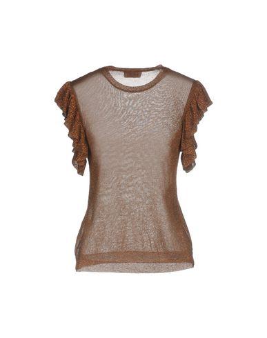 Фото 2 - Женский свитер  коричневого цвета