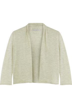 AUTUMN CASHMERE Cropped cashmere cardigan