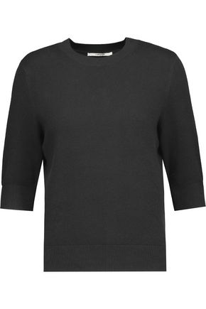 J BRAND Ivar waffle-knit cotton-blend sweater