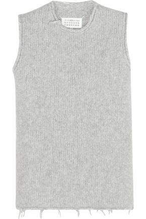 MAISON MARGIELA Ribbed alpaca-blend vest