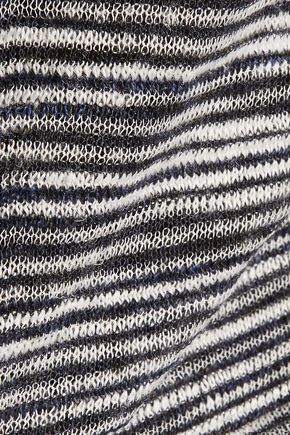 IRO Anemone striped linen-blend sweater