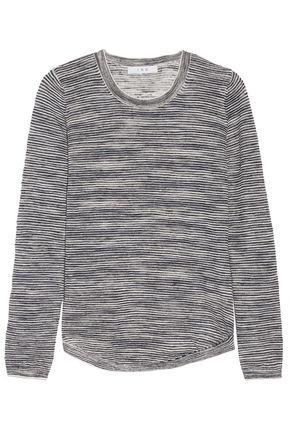 IRO Anemone striped linen-blend sweater