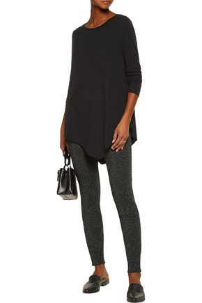 JOIE Tambrel asymmetric wool and cashmere-blend sweater