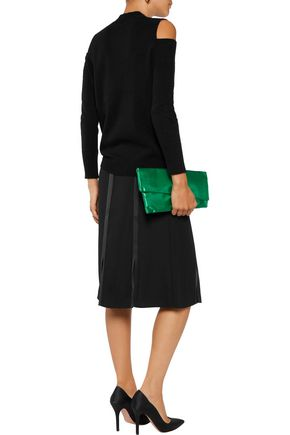 IRIS AND INK Diana cutout cashmere sweater
