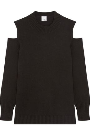 IRIS & INK Diana cutout cashmere sweater