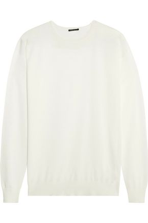 THEORY Dreamerly silk and cotton-blend sweater