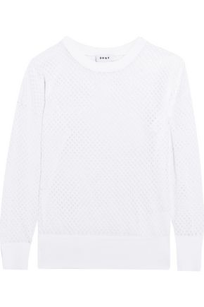 DKNY Woven sweater