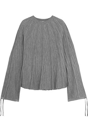 CHLOÉ Ribbed wool-jersey sweater