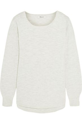 MADEWELL Slub cotton-blend sweater