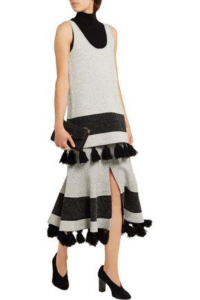 PROENZA SCHOULER Tasseled stretch-bouclé tunic