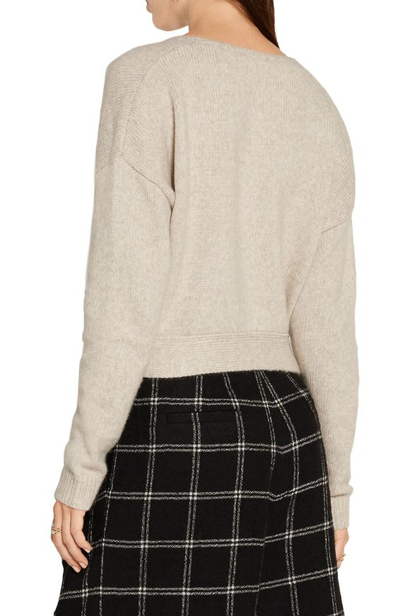 Barrett tie-front wool-blend sweater | ELIZABETH AND JAMES | Sale up to 70%  off | THE OUTNET