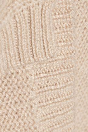 AUTUMN CASHMERE Open-knit cashmere sweater