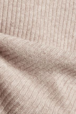 LINE Ribbed cashmere sweater
