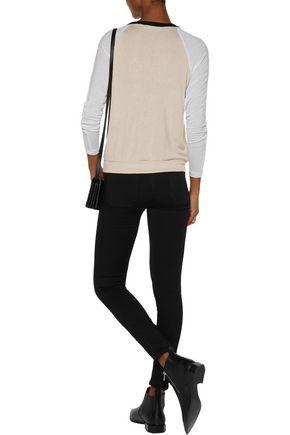 KAIN Hiro color-block modal-blend sweater