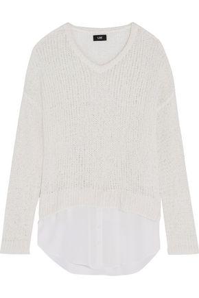 LINE Emerson open-knit cotton-blend sweater