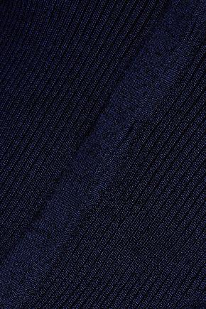 DIANE VON FURSTENBERG Shayda ribbed-knit cardigan