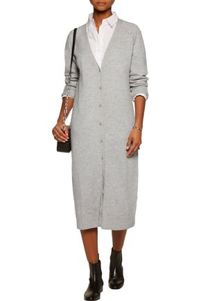 T by ALEXANDER WANG Wool and cashmere-blend cardigan