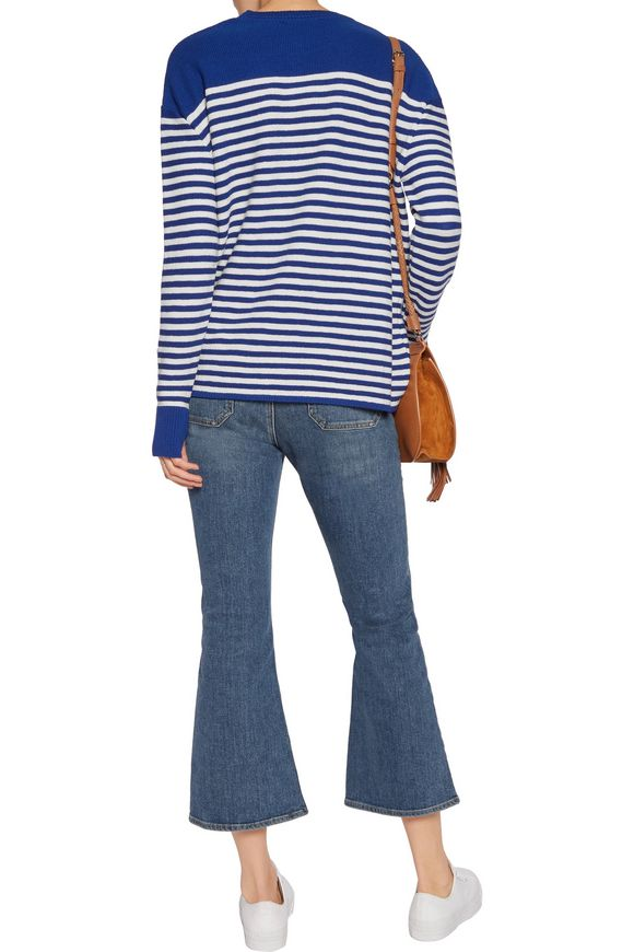 Delmar Breton striped merino wool sweater | M.I.H JEANS | Sale up to 70% off  | THE OUTNET
