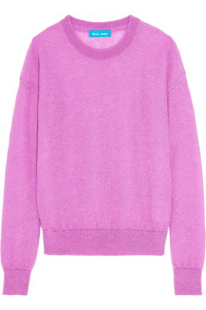 M.I.H JEANS Inka ribbed mohair-blend sweater