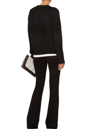 J BRAND Rodeo paneled knitted sweater