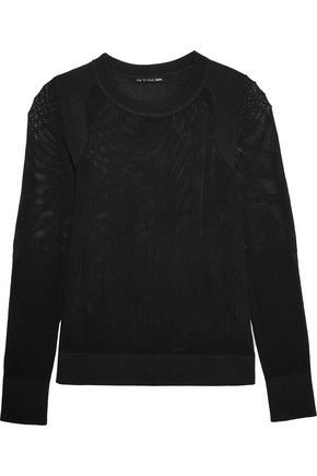 RAG & BONE Shea open-knit cotton-blend sweater