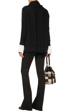 JOIE Melantha textured-knit sweater