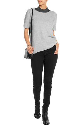 DUFFY Ribbed cashmere top