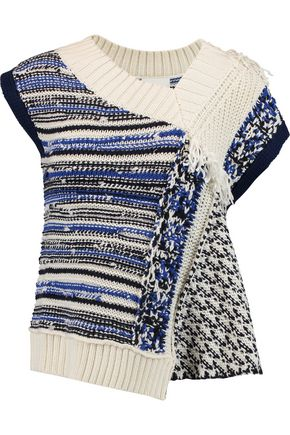 3.1 PHILLIP LIM Draped open-knit sweater