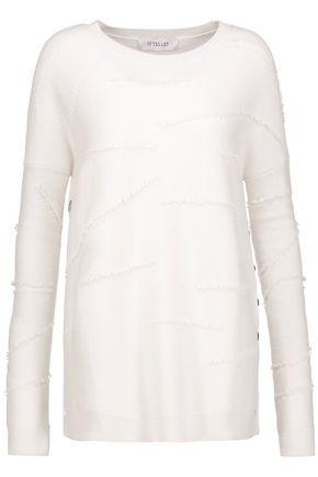 10 CROSBY DEREK LAM Fringed knitted sweater