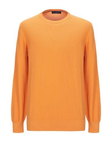 Купить Мужской свитер  оранжевого цвета