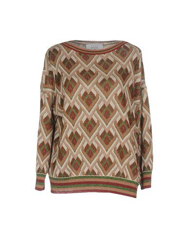Фото - Женский свитер  светло-коричневого цвета