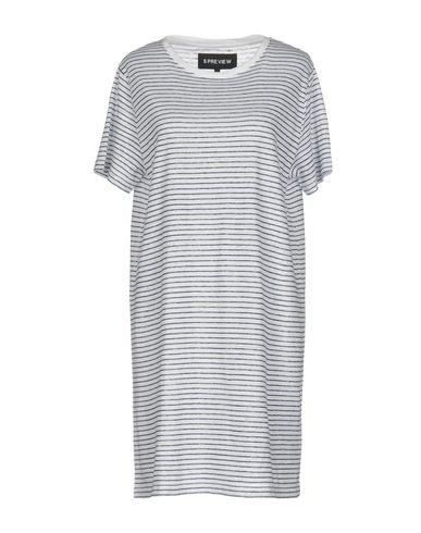 Купить Женское короткое платье 5PREVIEW белого цвета