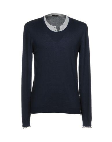 Фото - Мужской свитер WISE GUY темно-синего цвета