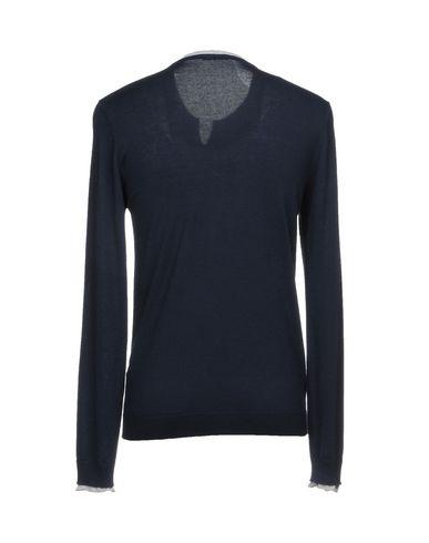 Фото 2 - Мужской свитер WISE GUY темно-синего цвета