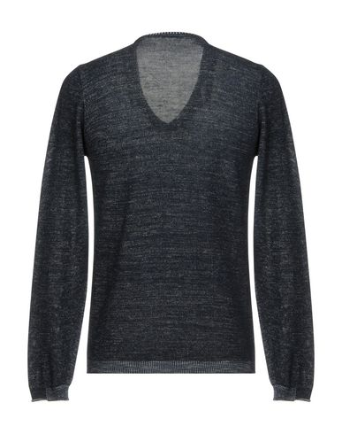 Фото 2 - Мужской свитер BELLWOOD темно-синего цвета