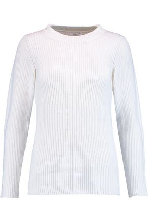 SONIA RYKIEL Ribbed cotton-blend sweater