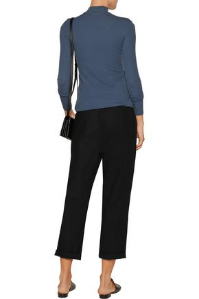 ATM Ribbed stretch-Micro Modal turtleneck top