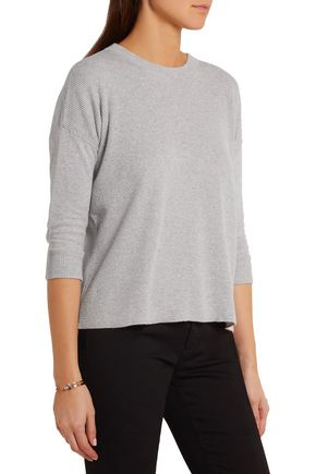 FRAME Le Boxy cotton, silk and cashmere-blend sweater