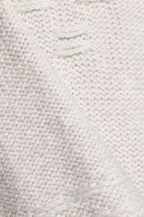 VELVET by GRAHAM & SPENCER Chunky-knit poncho