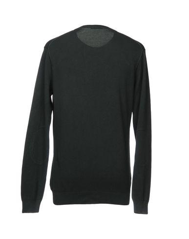 Фото 2 - Мужской свитер SUN 68 темно-зеленого цвета