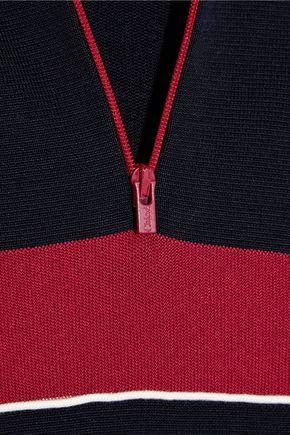CHLOÉ Silk-blend jersey sweater